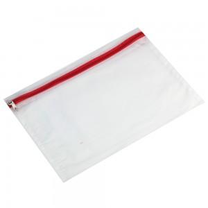 Envelopes plásticos com ziper