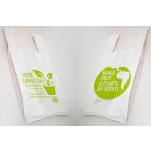 plástico compostavel