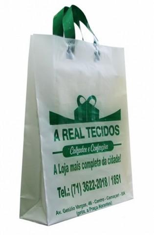Sacolas biodegradaveis personalizadas